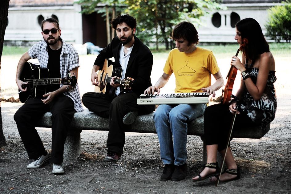 Il Cubo di Rubik Monocromo live for Milano Acoustics