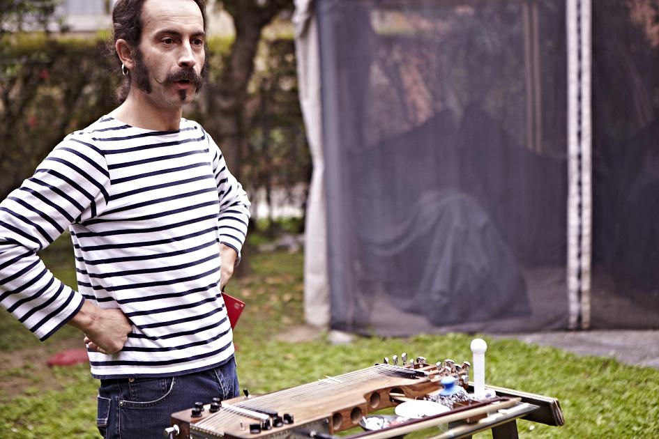 XABIER IRIONDO - Improvvisazione per Mymetak per Milano Acoustics
